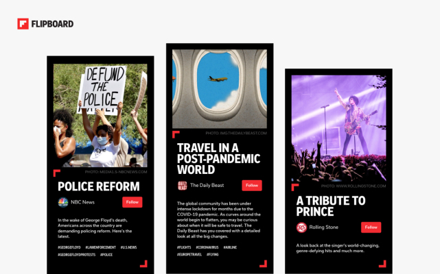 Flipboard rolls out Storyboards as a new way to highlight content – TechCrunch