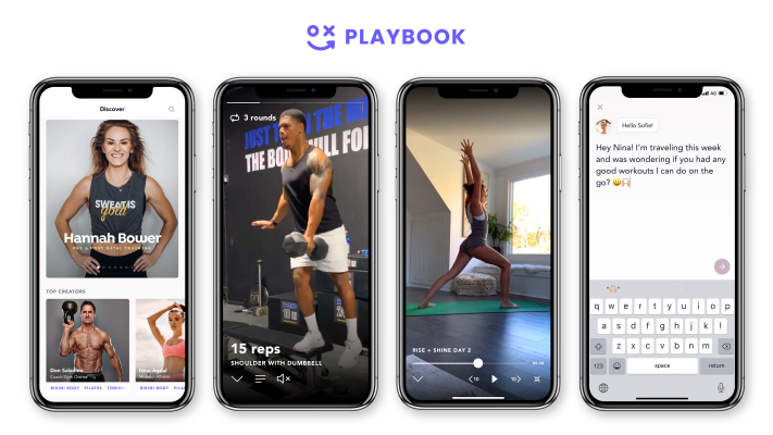 Playbook, a creator platform focused on fitness, raises $3 million in seed – TechCrunch