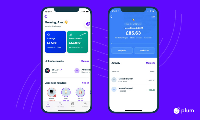 Plum raises $10M for its 'smart' money management app – TechCrunch
