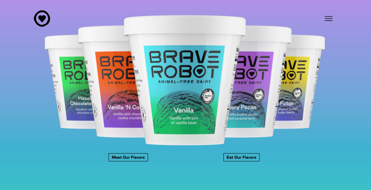 Brave Robot ice cream launches as the first brand from the Perfect Day-backed Urgent Company – TechCrunch