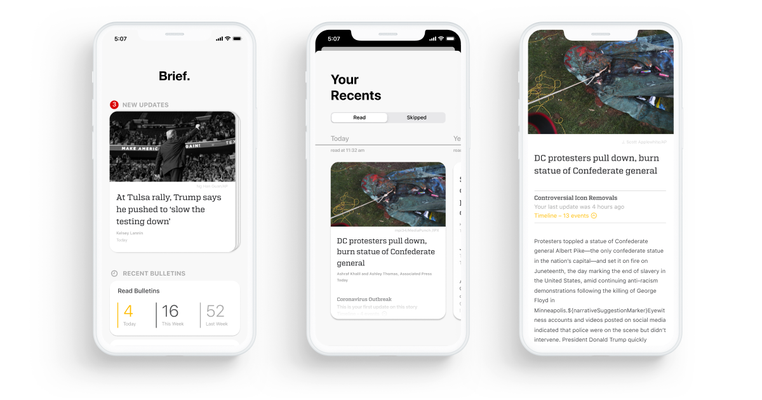 Brief's mobile news app aims to tackle information overload and media bias – TechCrunch